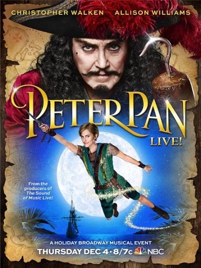 شاهد الفلم العائلي بيتر بان Peter Pan Live! 2014 مترجم