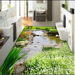 صور ارضيات ابوكسي ثلاثي الابعاد جميلة , عيش البر والبحر في بيتك