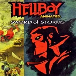فلم كرتون انمي الاكشن والمغامرة فتى الجحيم سيف العواصف Hellboy Animated Sword Of Storms 2006 مدبلج للعربية
