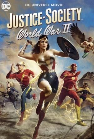 فيلم Justice Society World War II 2021 فرقة العدالة الحرب العالمية الجزء الثاني