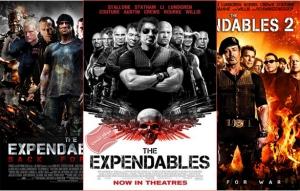 شاهد ثلاثية فلم الاكشن والحروب The Expendables مترجمة بجودة HD