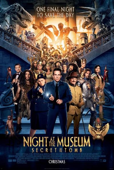 فلم الخيال والكوميديا ليلة في المتحف: سر قبر  Night At The Museum :Secret of the Tomb 2014 مترجم