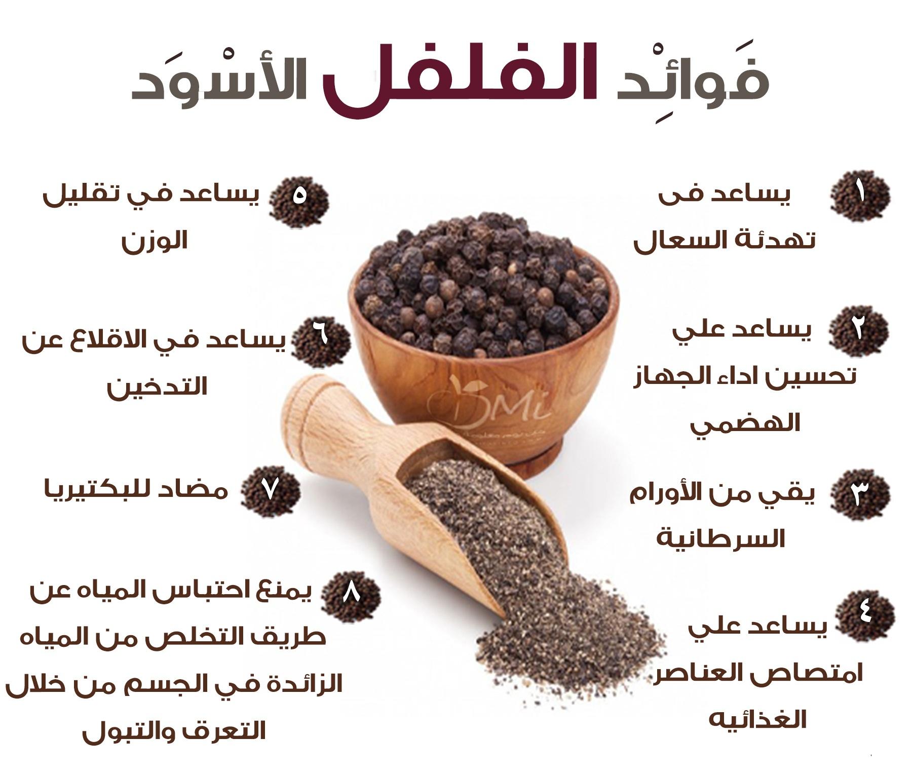 Bildergebnis für الفلفل الاسود