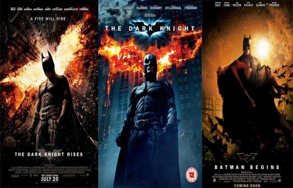 ثلاثية افلام الأكشن والجريمة والخيال باتمان The Dark Knig