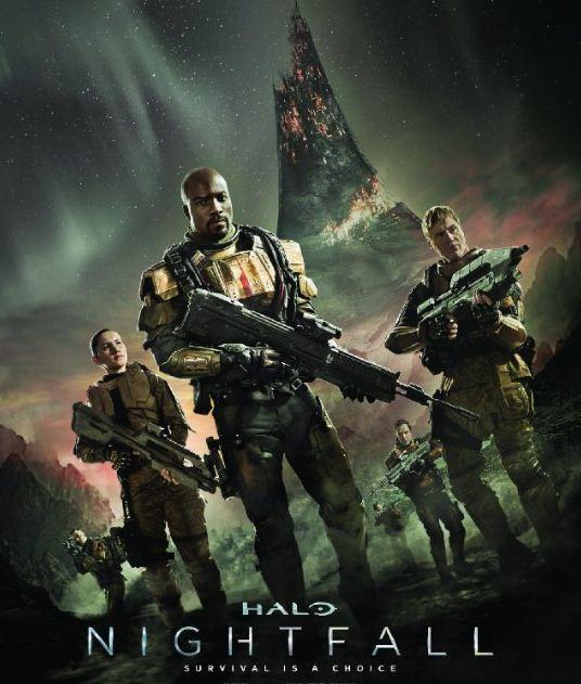 شاهد فلم الاكشن والخيال العلمي Halo Nightfall 2014 مترجم HD