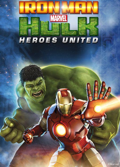 شاهد فلم كرتون الاكشن اتحاد الابطال Iron Man And Hulk Heroes United 2013 مدبلج للعربية