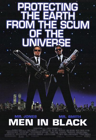 شاهد فلم المغامرة والخيال العلمي Men In Black 1997 مترجم