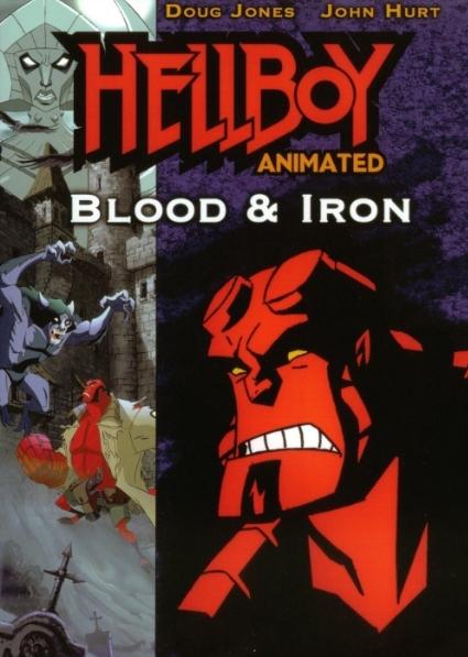 فلم انمي كرتون المغامرة والاكشن فتى الجحيم الدماء والحديد Hellboy Animated: Blood and Iron 2007 مترجم للعربية